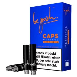 Be posh Caps Menthol8 4 Stück