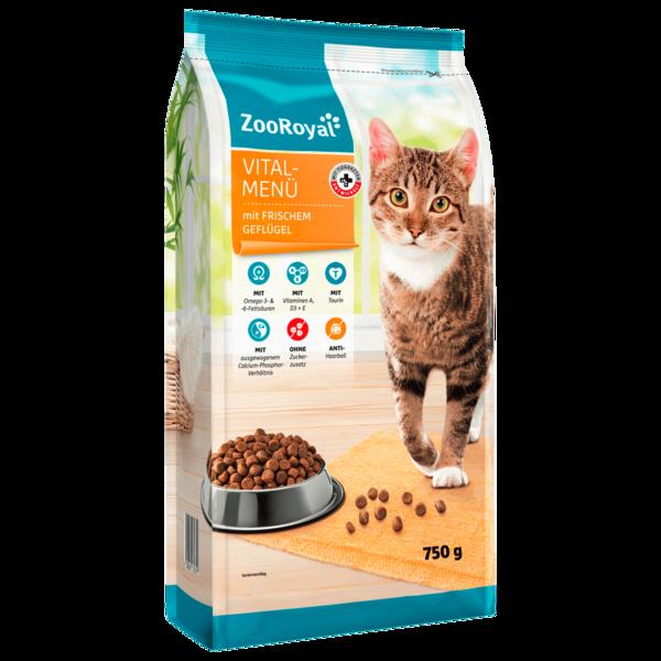 ZooRoyal Vital-Menü Adult Katze 750g