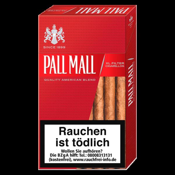 Pall Mall Filter Zigarillos XL Full Flavour 17 Stück