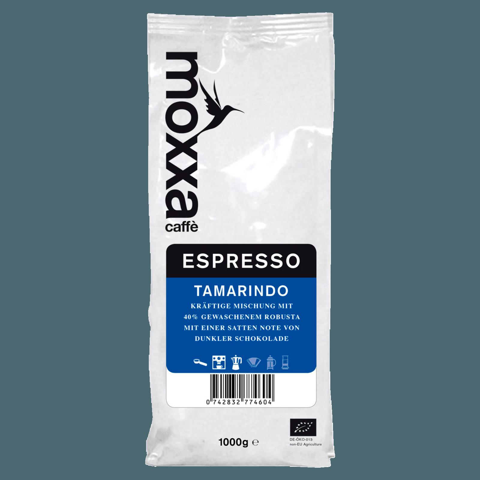 Moxxa Espresso Tamarindo ganze Bohne 1kg