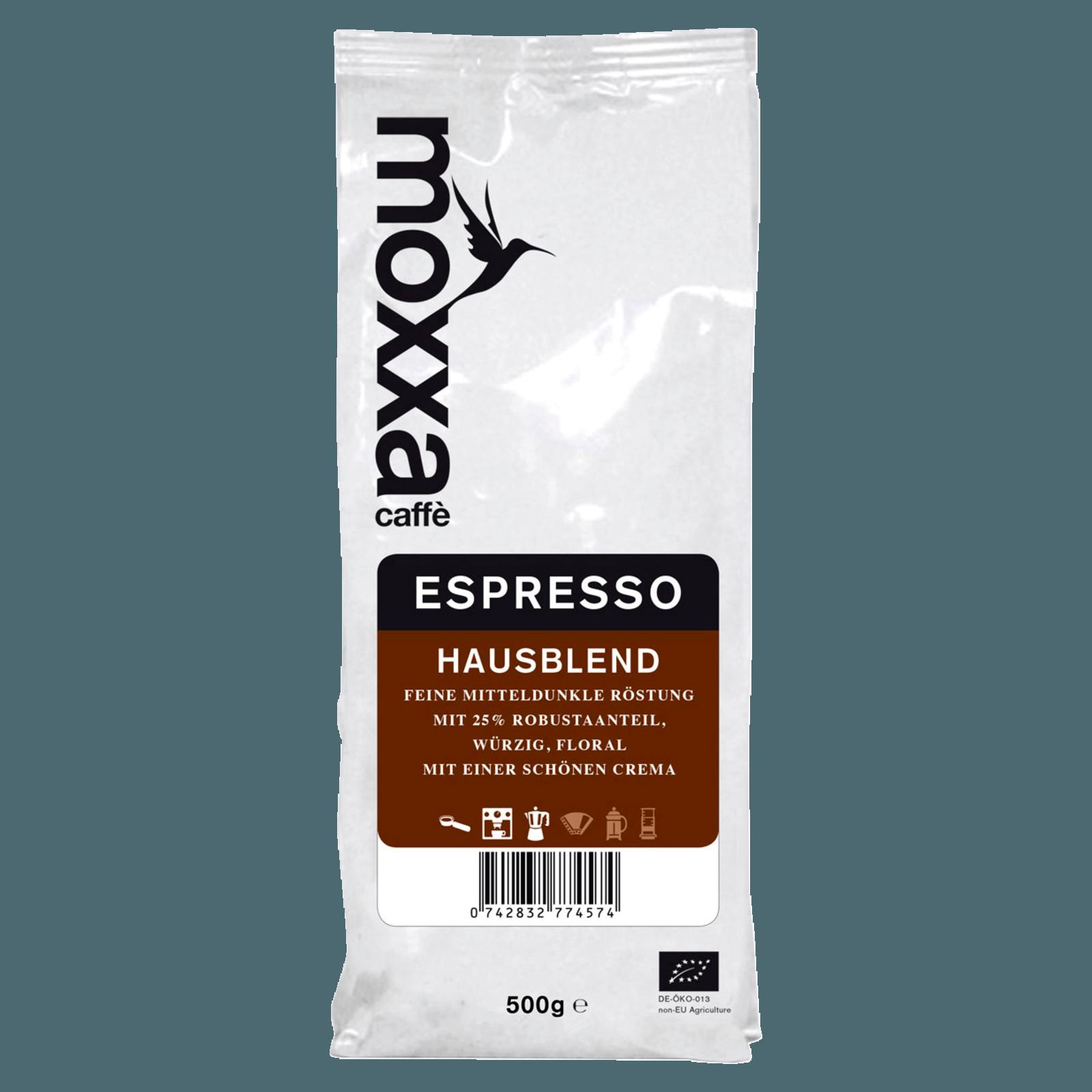 Moxxa Espresso ganze Bohne 500g