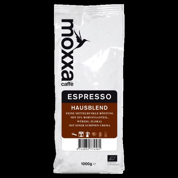 Moxxa Bio Espresso ganze Bohne 1kg