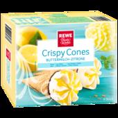 REWE Beste Wahl Crispy Cones Buttermilch-Zitrone 6x120ml