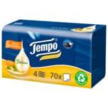 Tempo Soft & Sensitiv Plus Balsam mit Mandelöl und Aloe Vera 70 Tücher