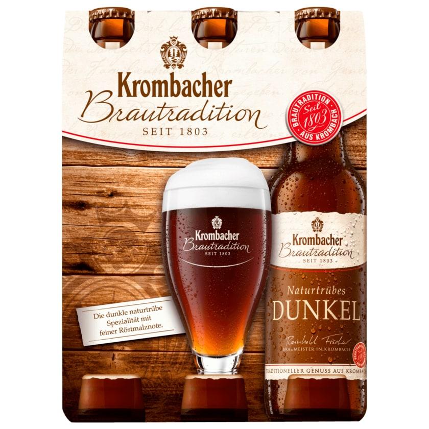 Krombacher Naturtrübes Dunkel 6x0,33l