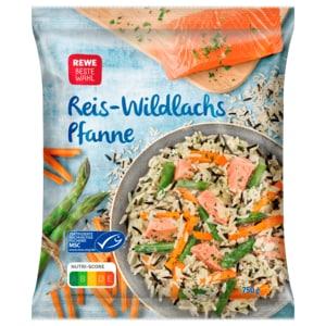 REWE Beste Wahl Reis-Wildlachs-Pfanne 750g