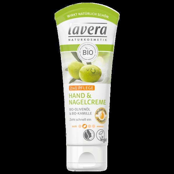 Lavera Hand- und Nagelcreme 2in1 mit Bio-Olivenöl 75ml