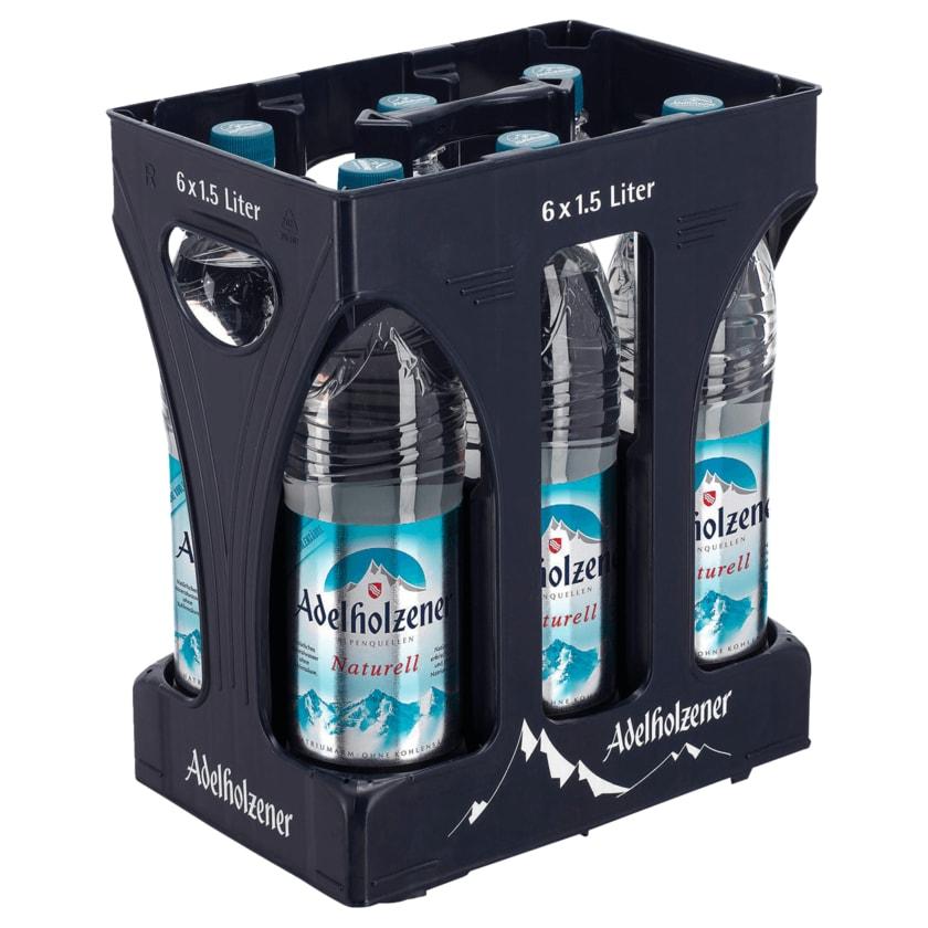 Adelholzener Mineralwasser Naturell 6x1,5l
