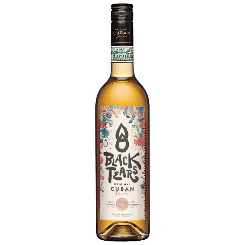 Black Tears Spiced Rum 0,7l