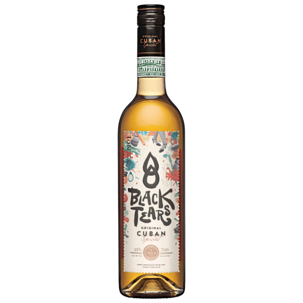 Black Tears Spiced Rum 0,7l