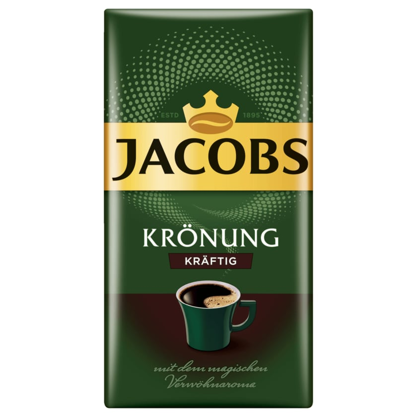 Jacobs Filterkaffee Krönung Kräftig 500g