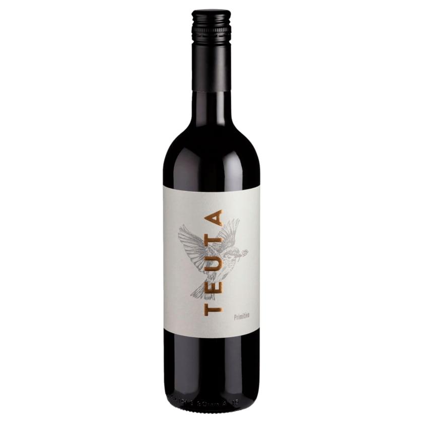 Teuta Rotwein Primitivo Salento trocken 0,75l
