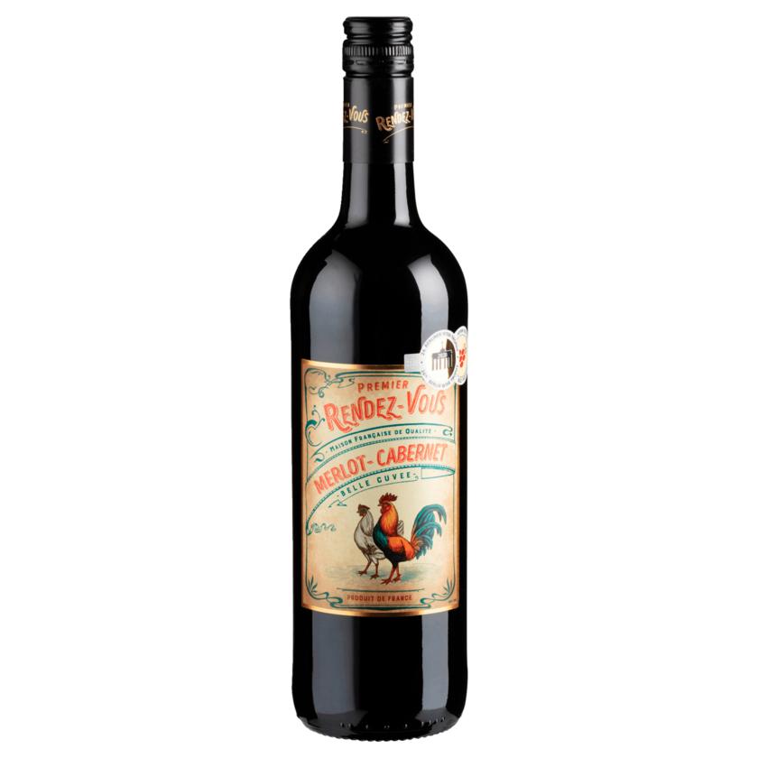 Premier Rendez-Vous RotweinCabernet Merlot trocken 0,75l