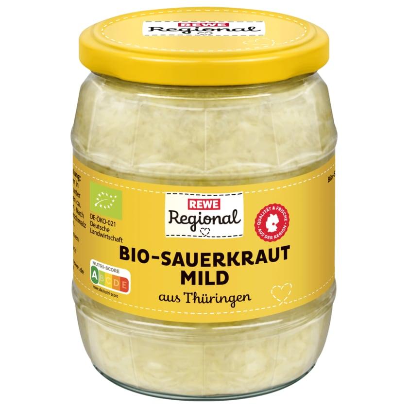 REWE Regional Bio Sauerkraut aus Thüringen 520g