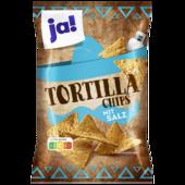 ja! Tortilla Chips mit Salz 300g