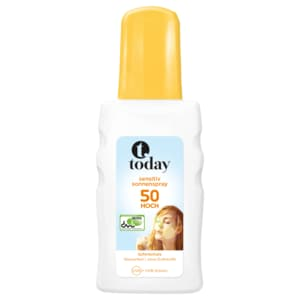 Today Sonnenspray Sensitiv LSF 50, 200ml