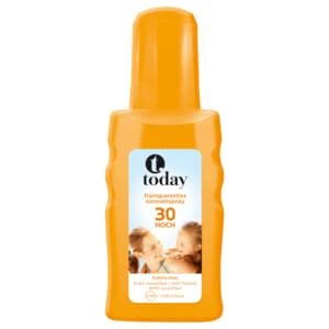 Today transparentes Sonnenspray LSF 30 200ml
