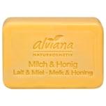 Alviana Stückseife Milch & Honig 100g