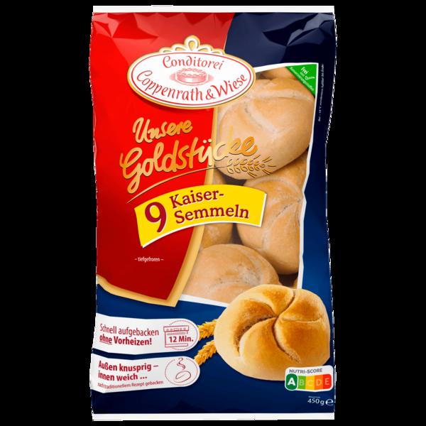 Coppenrath & Wiese Unsere Goldstücke Kaiser-Semmeln 450g, 9 Stück