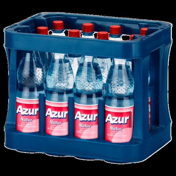 Azur Mineralwasser Natur 12x1l