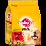 Pedigree Hundefutter Trocken Adult Rind und Gemüse 3kg