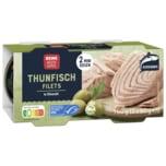 REWE Beste Wahl Thunfisch in Öl 2x80g