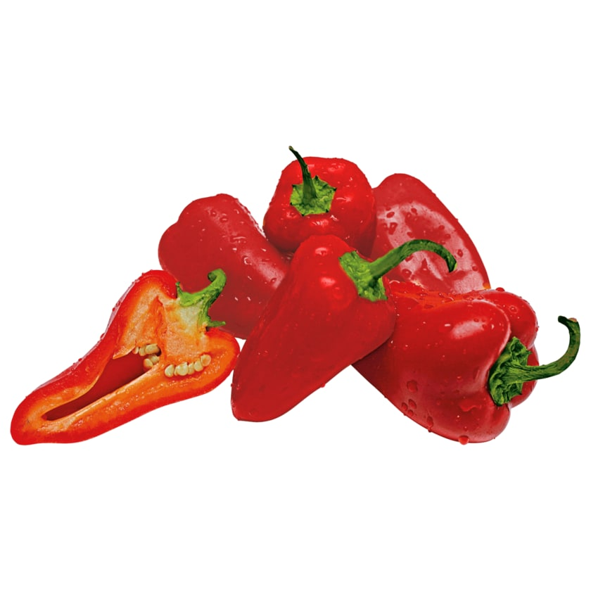 Snackpaprika rot