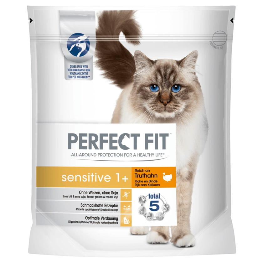 Perfect Fit Sensitive 1 + Truthahn 1400g