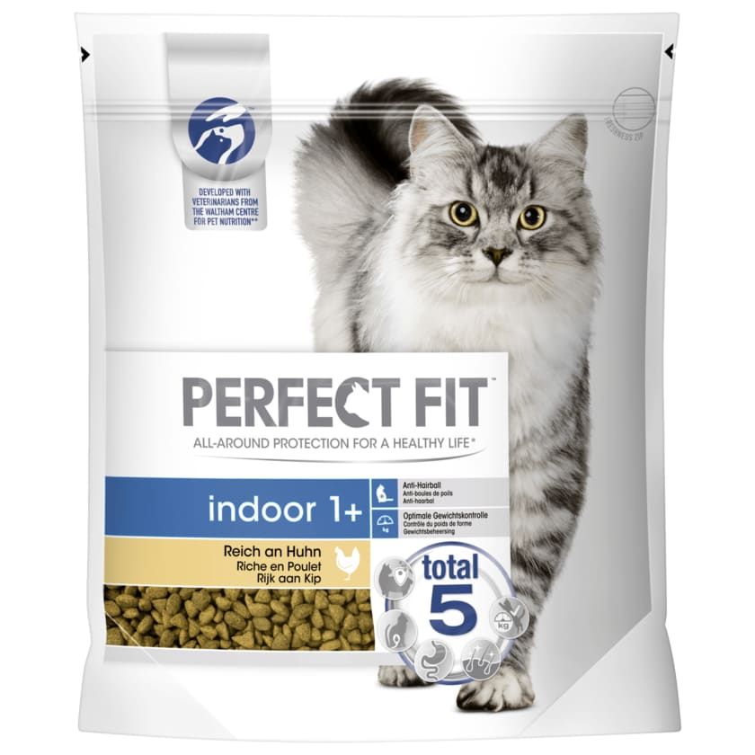 Perfect Fit Katzenfutter Indoor 1+ mit Huhn 1400g