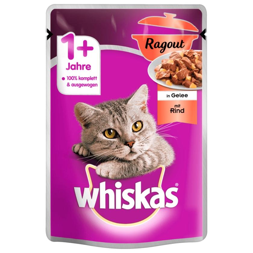 Whiskas Ragout Gelee Rind 1+ 85g