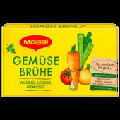 Maggi Klare Gemüsebrühe mit 8 Würfeln ergibt 8 Liter