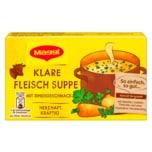 Maggi Klare Fleisch Suppe mit 8 Würfeln ergibt 8 Liter