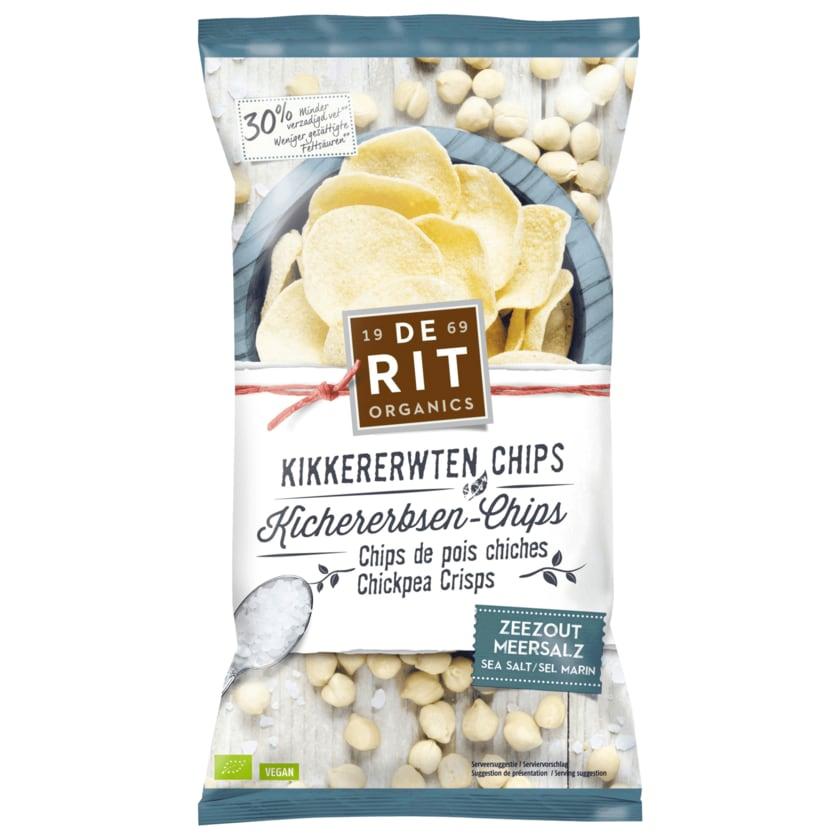 DeRit Bio Kichererbsen-Chips Meersalz 75g