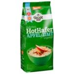 Bauckhof Bio Haferbrei Hot Hafer Apfel-Zimt ungesüßt 400g