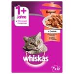 Whiskas 1+ Ragout Klassische Auswahl in Gelee 12x85g