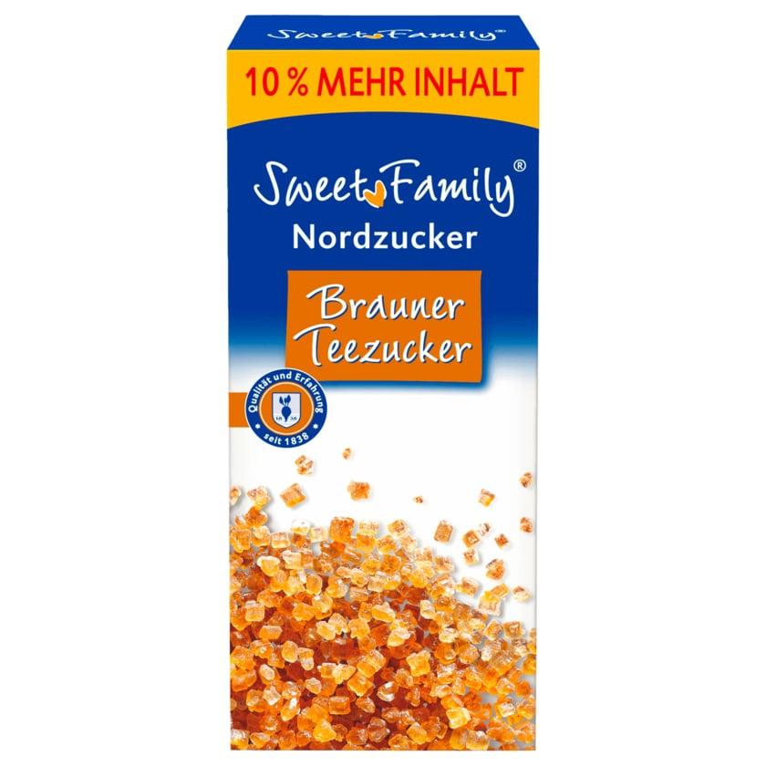 Sweet Family Nordzucker Brauner Teezucker 550g