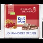 Ritter Sport Johannisbeer Streusel 100g