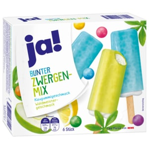 ja! Bunter Zwergen-Mix 6x60ml
