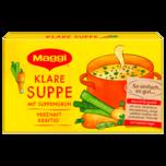 Maggi Klare Suppe mit Suppengrün mit 8 Würfeln ergibt 8 Liter