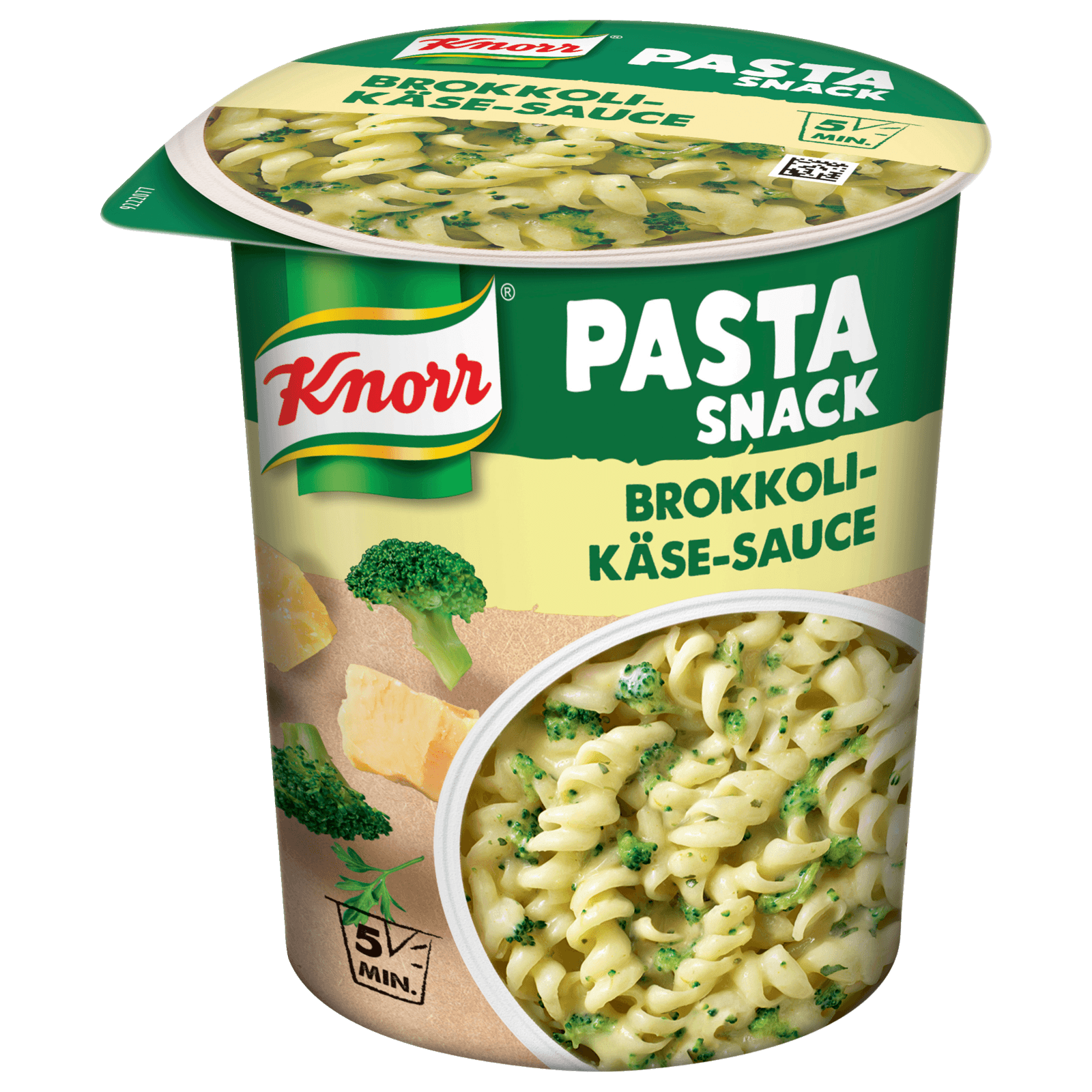 Knorr Pasta Snack Brokkoli-Käse-Sauce 1 Portion