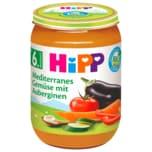Hipp Mediteranes Bio Gemüse mit Aubergine 190g