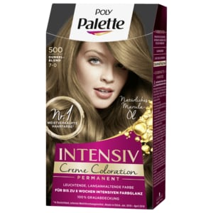 Poly Palette Intensiv-Creme-Coloration 500 Dunkelblond 115ml