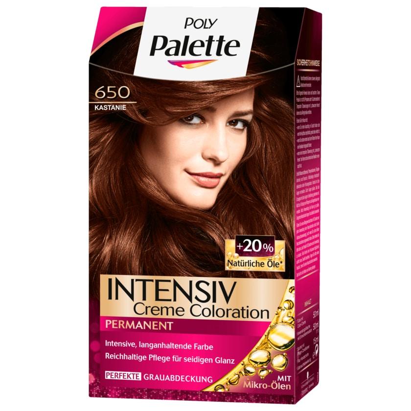 Poly Palette Intensiv-Creme-Coloration 650 Kastanie 115ml