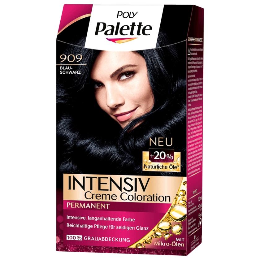 Poly Palette Intensiv-Creme-Coloration 909 Blauschwarz 115ml