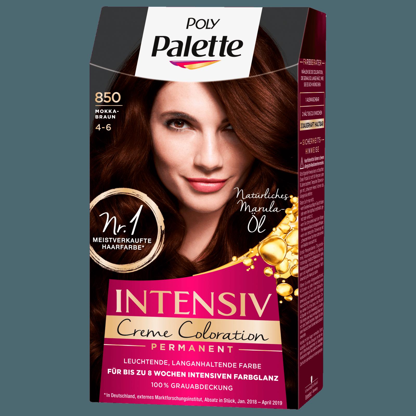 Poly Palette Intensiv Creme Coloartion 850 Mokkabraun 115ml Bei Rewe