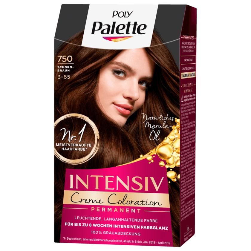 Poly Palette Intensiv-Creme-Coloration 750 Schokobraun 115ml