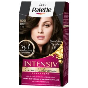 Poly Palette Intensiv-Creme-Coloration 800 Dunkelbraun 115ml