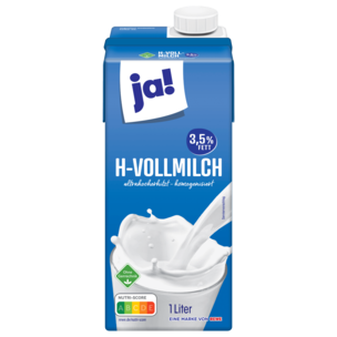 ja! H-Milch 3,5% 1l