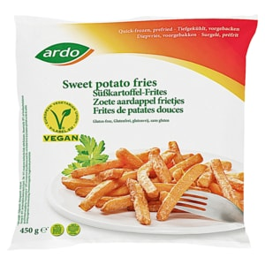 Ardo Süßkartoffel Frites 450g