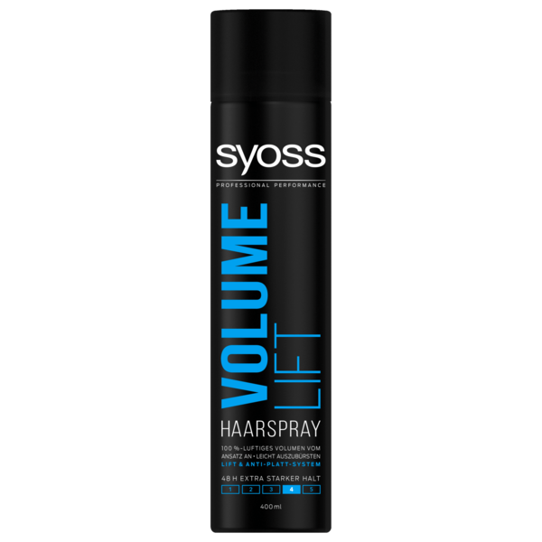 Syoss Haarspray Volume Lift extra starker Halt 400ml